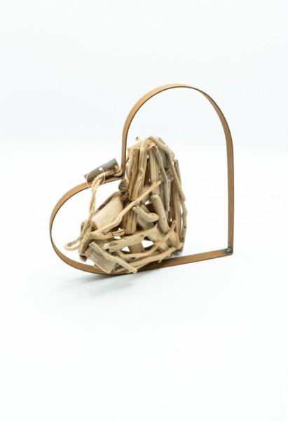 Designer Herz aus Holz
